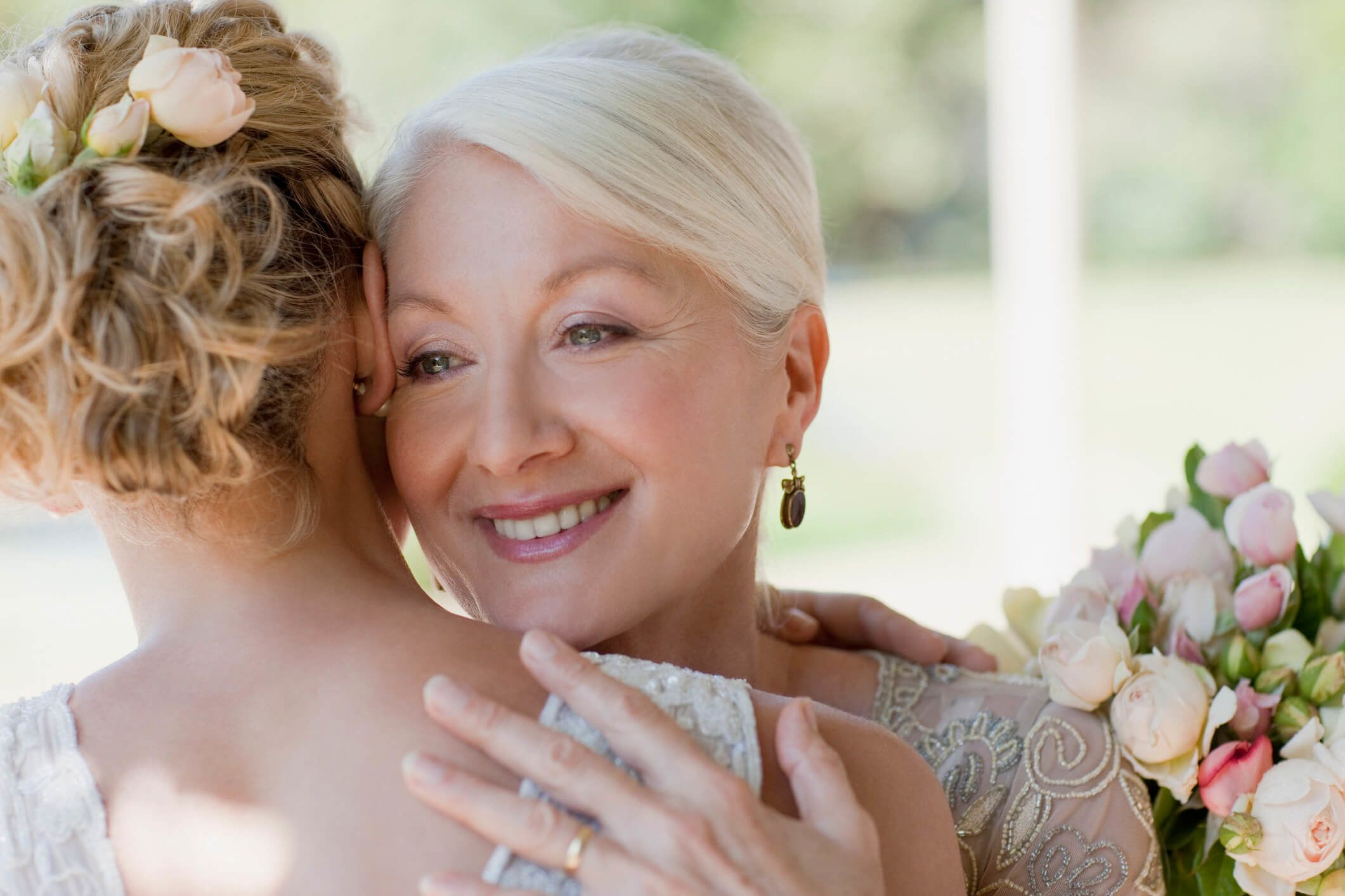 Bridal Express are experts in making mothers of the bride especially beautiful on their daughter's wedding day! Call us now at (866) 216-4534